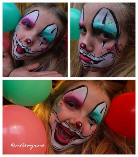 Collage clown